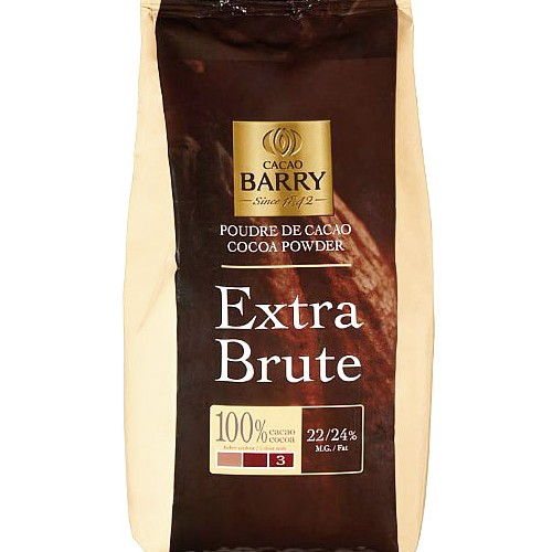Какао exstra brute (cacao barry) 1кг.